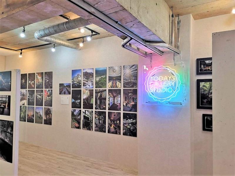 変わる廃墟展2020_TODAYS GALLERY STUDIO._場内